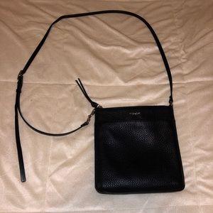 Coach cross body leather bag